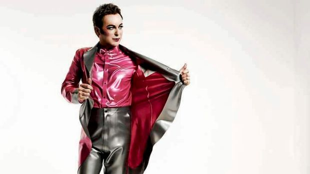 At 54, greying, in a red-sequined jacket and as much mascara as ever, Julian Clary still has it.
