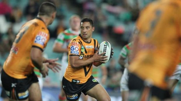 Something to offer: Benji Marshall in 2013 with the Tigers.