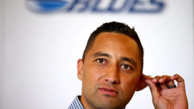 Switch back: Benji Marshall's career in Super Rugby proved short-lived.