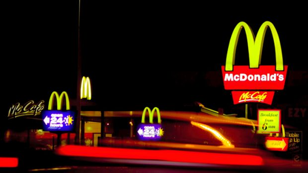 Fast-food restaurants: red for a reason.