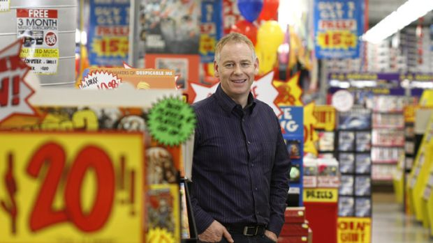Terry Smart is shutting up shop after 14 years at JB Hi-Fi.