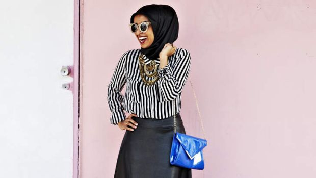 Fashion statement: Zulfiye Tufa dresses modestly as a way of expressing her internal beliefs.