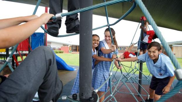 Year 1 to year 7 students from Oran Park Anglican School.