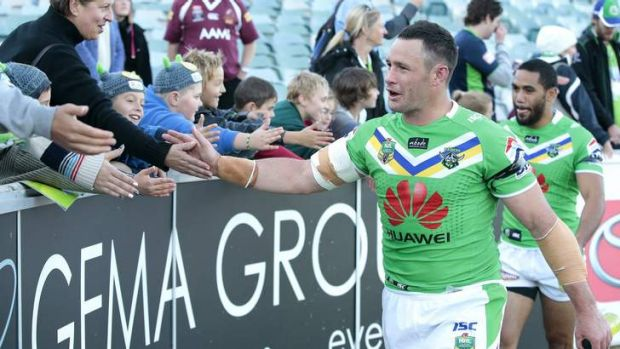 Canberra Raiders player Brett White is expected to make a decision on his future within the next month.