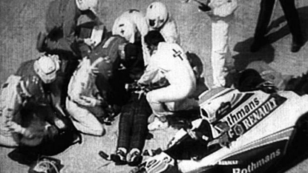 Fatal crash: Strict safety regulations were implemented following the Imola track tragedies of Brazil's Ayrton Senna and ...