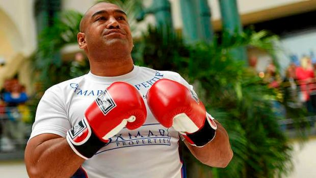 Alex Leapai is seeking to become the first Australian to be crowned undisputed heavyweight champion of the world.