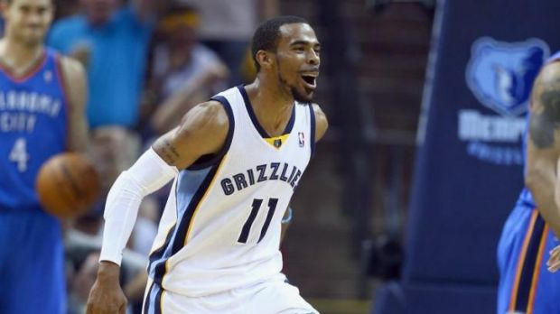 Mike Conley was the best on court to help the Grizzlies to a 2-1 lead.