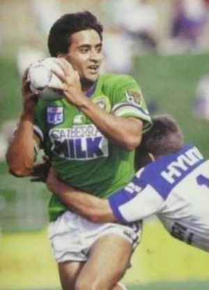 Former Raiders star Albert Fulavai.