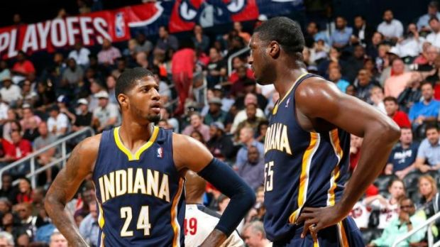 "The Pacers have been taunted with chants of ""overrated"" by Hawks fans."