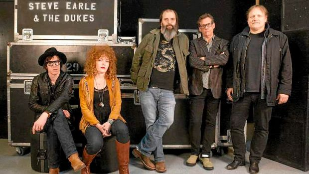Steve Earle and The Dukes.