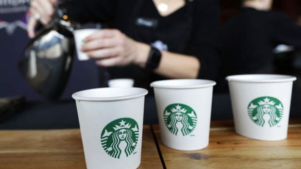 The Withers family plans to make Starbucks one of the major players in the Australian coffee market.