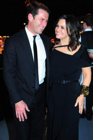 Missing from this year's line-up: Lisa Wilkinson (right) with former co-host Karl Stefanovic.