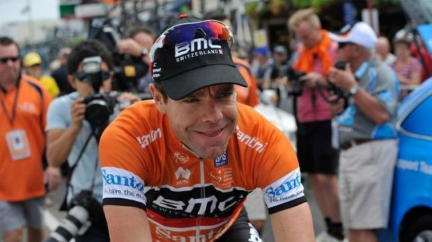 First win since 2012: Cadel Evans was victorious in the Giro del Trentino.
