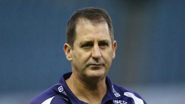 Dockers coach Ross Lyon  admits his side is not as slick as it was last season.