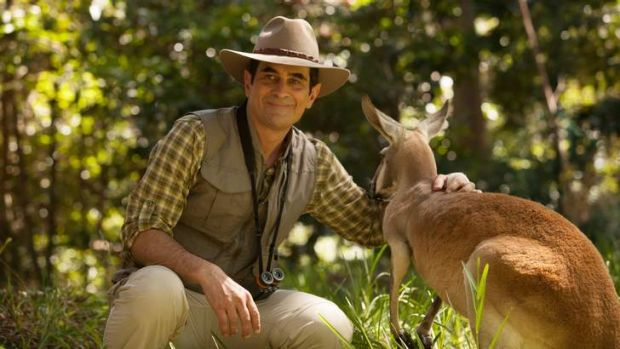Tenuous link: Phil Dunphy (Ty Burrell) in <i>Modern Family</i>'s Australian episode.