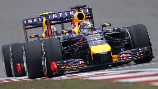 Will it last?: Daniel Ricciardo has outperformed Sebastian Vettel in the early stages of the F1 season.