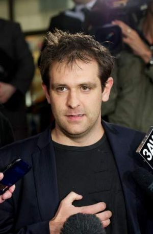 Tom Meagher, husband of Jill Meagher who was abducted and murdered while walking home in Melbourne.