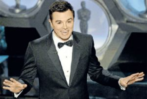 Seth MacFarlane delivers his controversial oscar routine.