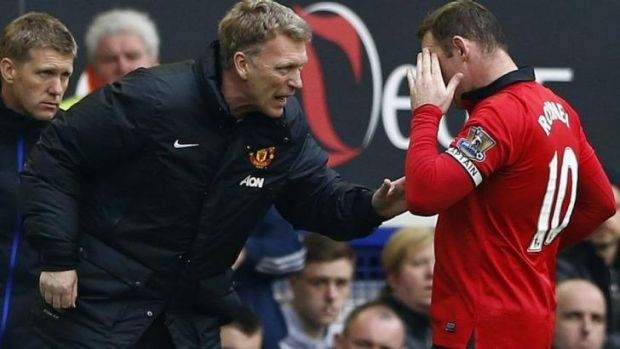 Wayne Rooney was unhappy with comments Moyes made in July.