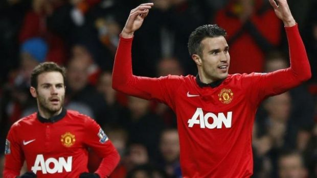 Robin van Persie was one of several senior players to express his frustation.