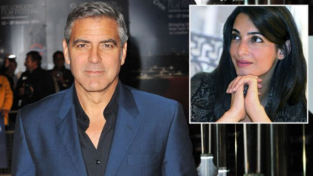 Engaged: Amal Alamuddin has won the heart of Hollywood's most famous bachelor.