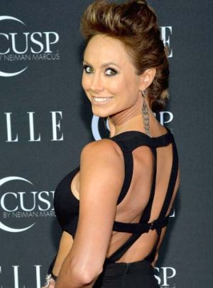 One of Clooney's many exes: Stacy Keibler.