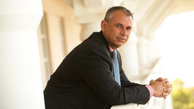 """My message to Clive is clear"": Northern Territory Chief Minister Adam Giles."