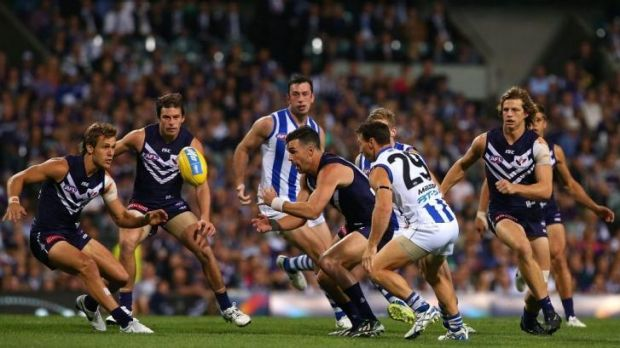 Fremantle midfielder David Mundy admits the team has dug itself a bit of a hole following two straight AFL losses.