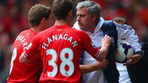 Mourinho's time wasting tactics infuriated Liverpool.