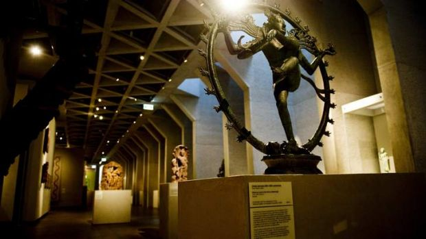 Likely to return to India? The Dancing Shiva statue in the National Gallery of Australia.