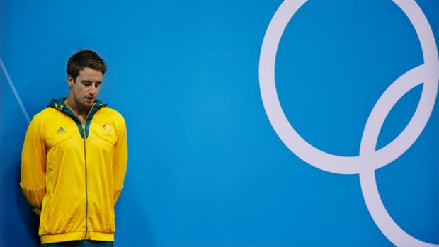 Swimmer James Magnussen at the 2012 London Olympics.