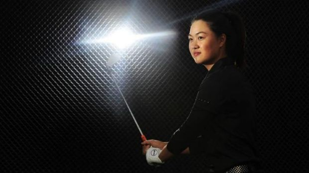 World No. 1 amatuer Minjee Lee is in Canberra  this week.