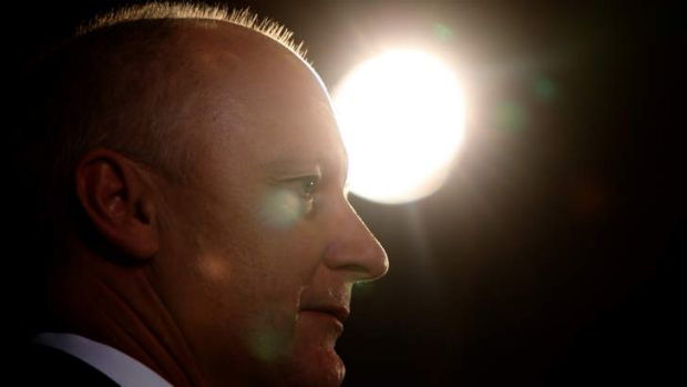 Confident: Wesfarmers chief Richard Goyder is not fearful of a tough federal budget.