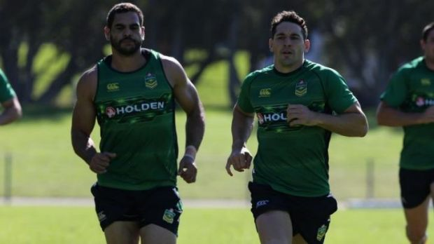 """It's just about measuring yourself against your own performances"": Storm and Kangaroos fullback Billy Slater training ..."