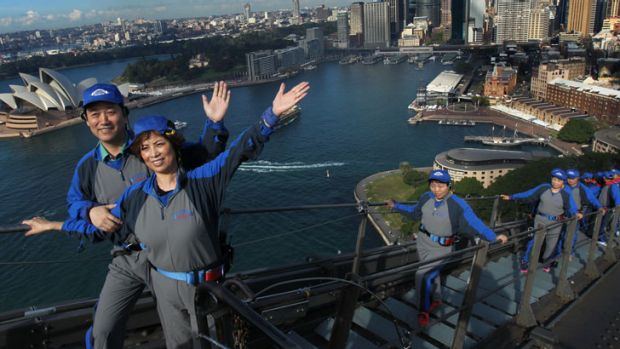 Visitors from China spent a record $4.8 billion in Australia last year.
