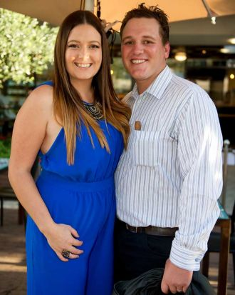 Friends and family of WA's My Kitchen Rules contestants Chloe and Kelly gathered at the Peasant's Table restaurant in Mt ...