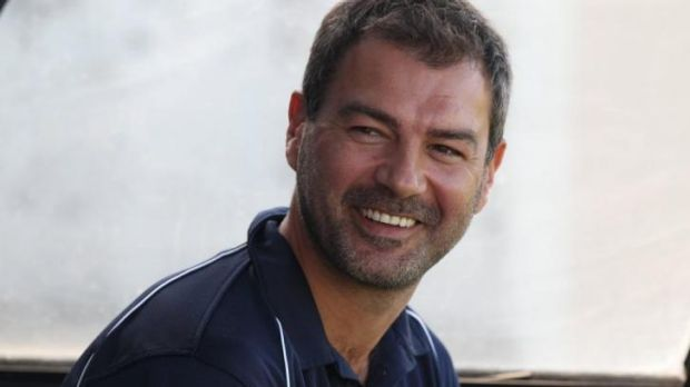 On the rise: Former Sydney FC skipper Mark Rudan has been earning his stripes coaching Sydney United.