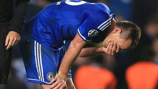 Out: Chelsea's John Terry.