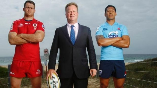 Tough sell: ARU boss Bill Pulver