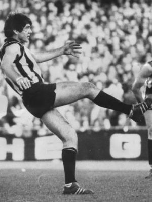 Collingwood great Peter McKenna.