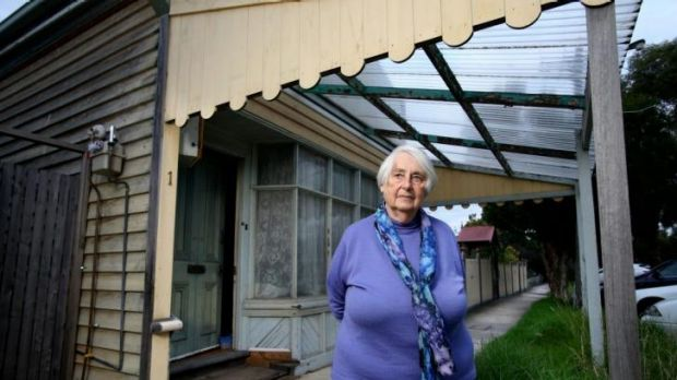 Anne Learmonth at her home in Northcote.