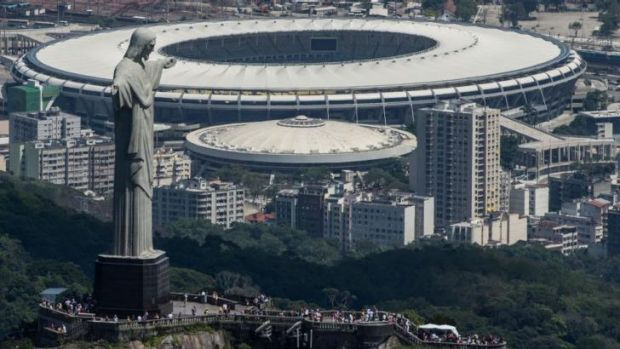 Divine intervention: Rio de Janeiro may need some help to be ready for the Olympics in 2016.