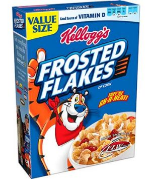 Sales in Kellogg's US breakfast division fell by 5.5 per cent in the first quarter.