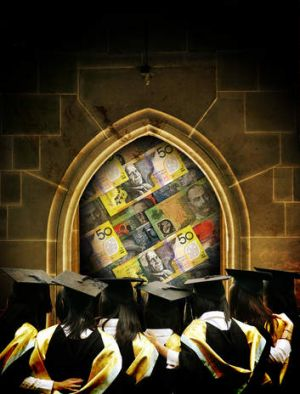 Young, educated and buried in debt.