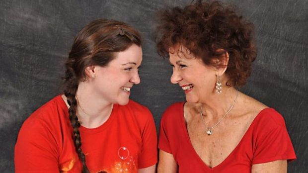Mrs Watts (Patricia Bona, right) meets Thelma (Bree Hartley) on her journey to her home town in <i>The Trip To ...
