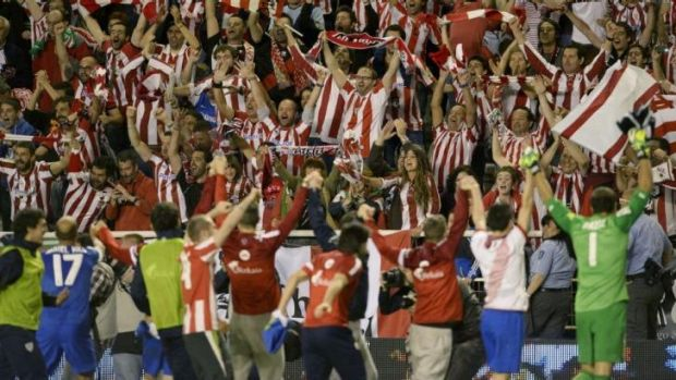 Cash injection: Athletic Bilbao will feel the financial benefits of qualifying for the Champions League.