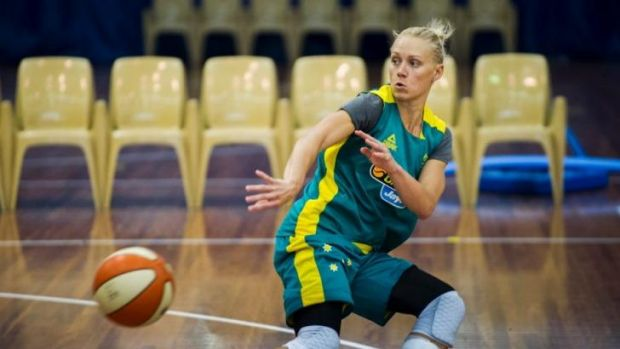 Ready for anything: Erin Phillips and the Australian Opals are looking forward to the world championships.