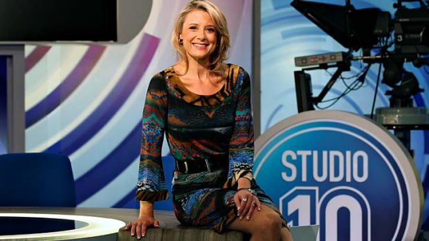Learning curve: Kristina Keneally is excited about her new spot at Channel 10.