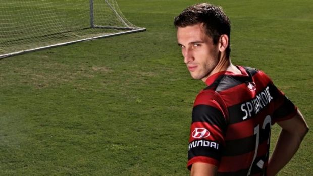 """""""I still have a job to do on the weekend ... it's just about one game at a time"""": Western Sydney's Matthew Spiranovic."""