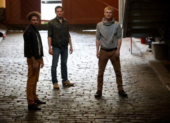 Dutch Theatre Troupe Michael Bloos , Lucas De Man and Mats Boswijk (right) .These guys are staging a version of Fight ...